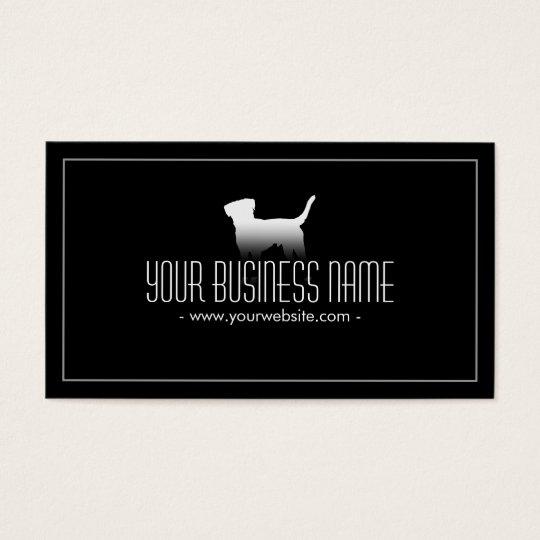 Pet Care Simple Plain Dog Business Card
