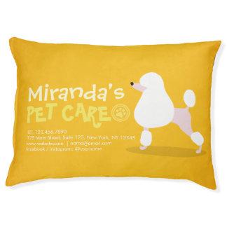Pet Care Sitting Adorable Cartoon Dog Illustration Pet Bed