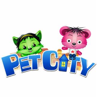 Pet City cutout magnet Standing Photo Sculpture