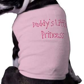 Pet Clothes Daddy's Little Princess