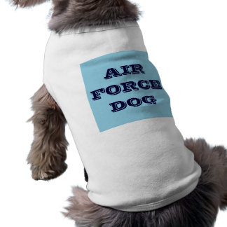 Pet Clothing Air Force Dog