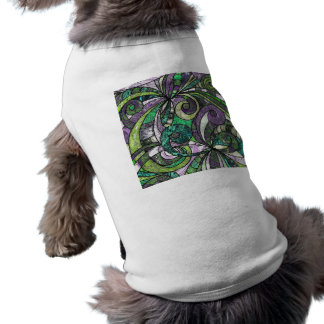 Pet Clothing Drawing Floral
