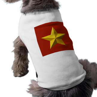 Pet Clothing - Gold Star