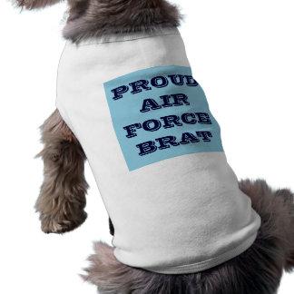 Pet Clothing Proud Air Force Brat