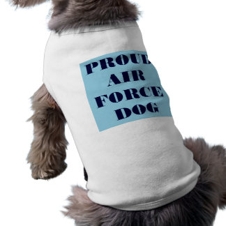 Pet Clothing Proud Air Force Dog