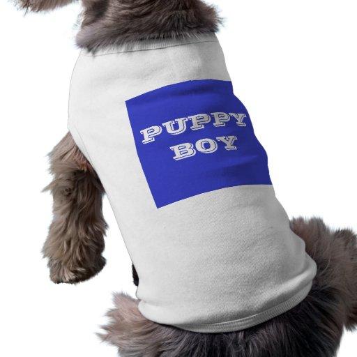Pet Clothing Puppy Boy
