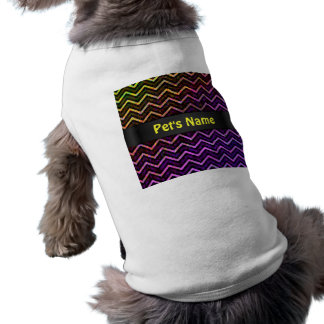 Pet Clothing Retro Zig Zag Chevron Pattern