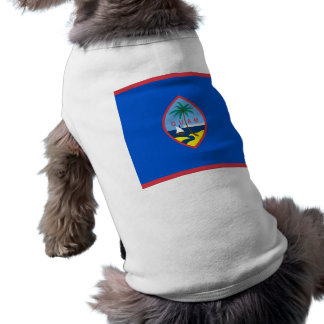 Pet Clothing with Flag of Guam, USA