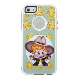 PET COWBOY ALIEN  Apple iPhone SE/5/5s CS W