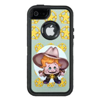 PET COWBOY ALIEN  Apple iPhone SE/5/5s DS