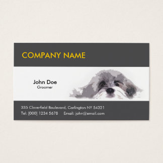 Pet Dog Business Cards
