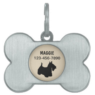 Pet Dog Tags Scottish Terrier