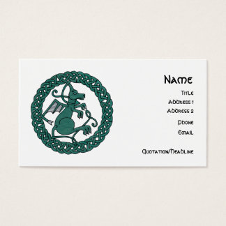 Pet Dragon business cards