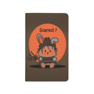 PET EVIL RABBIT CARTOON Pocket Journal