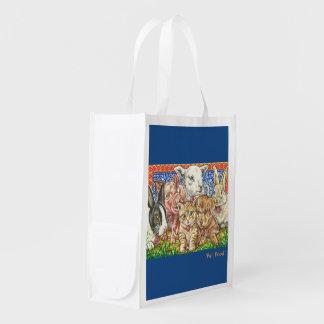 'Pet, Food.' Re-usable bag