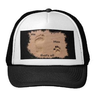 Pet & Footprint in the Sand Cap