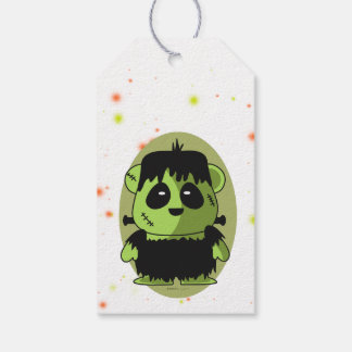 PET FRANKY MONSTER HALLOWEEN  GIFT TAG