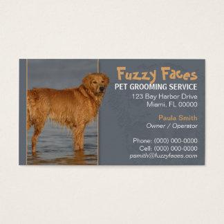 Pet Groomer Busness Card