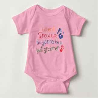 Pet Groomer (Future) Infant Baby T-Shirt