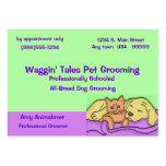 Pet Grooming Appointment Card Pack Of Chubby Business Cards