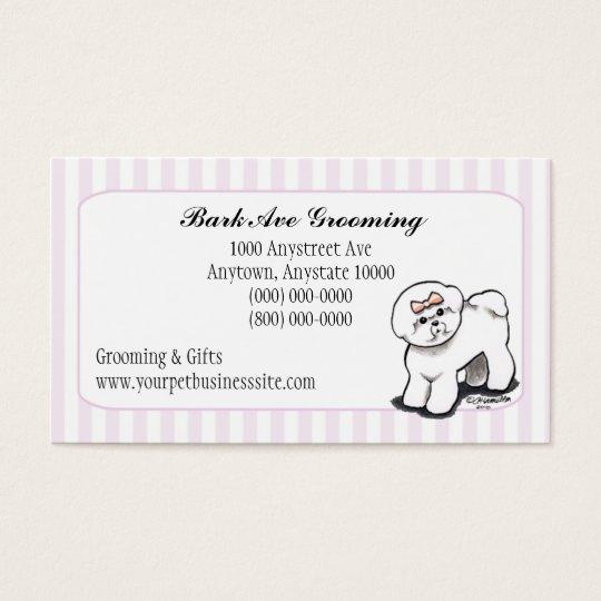 Pet Grooming Dog Groomer Spa Fancy Stripes Business