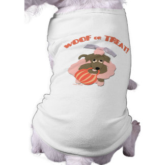 Pet Halloween Shirt for Dogs Sleeveless Dog Shirt