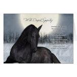 Pet Horse Sympathy Card, Loss Of Pet Horse Greeting Card