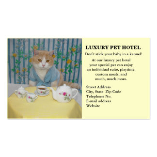 Pet Hotel Business Card