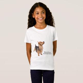 Pet image for Girls' Fine Jersey T-Shirt, White T-Shirt