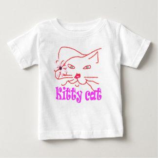 Pet kitty cat kids tee shirt