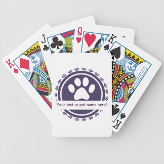 pet label card decks