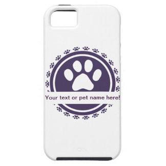 pet label iPhone 5 cases