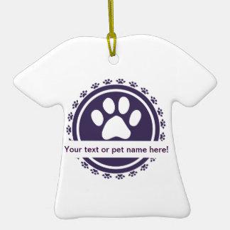 pet label ornament