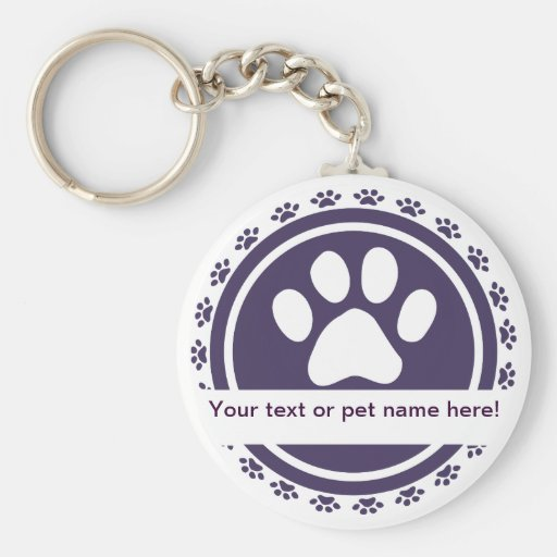 pet label keychains