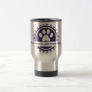 pet label coffee mugs