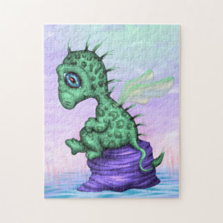 PET LEZY ALIEN MONSTER  CARTOON PUZZLE 11 X 14