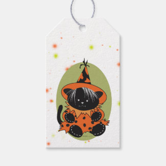 PET LITTLE WITCH 2 HALLOWEEN  GIFT TAG