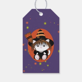 PET LITTLE WITCH HALLOWEEN  GIFT TAG