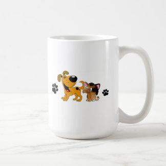 Pet Lovers! Best Friends Basic White Mug