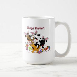 Pet Lovers! Easter Eggs Basic White Mug