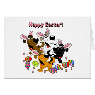 Pet Lovers! Easter Eggs Greeting Card