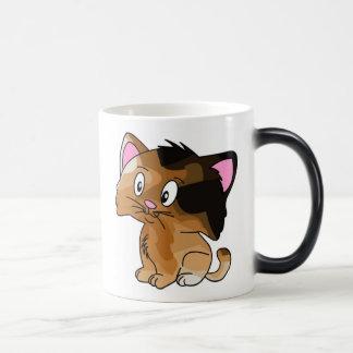 Pet Lovers! Kitty 11 Oz Magic Heat Color-Changing Coffee Mug