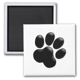 Pet Lovers Paw Print Magnet