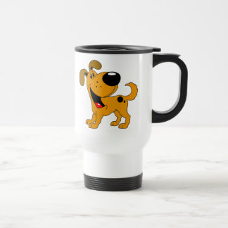 Pet Lovers! Pup 15 Oz Stainless Steel Travel Mug
