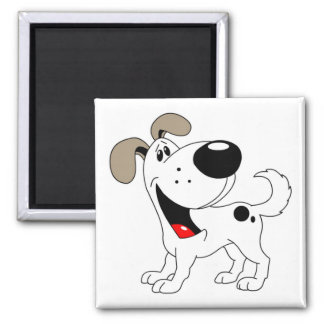 Pet Lovers! Pup Square Magnet