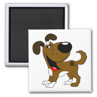 Pet Lovers! Square Magnet
