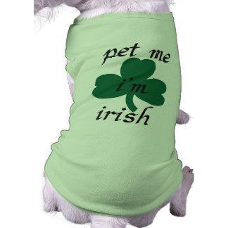 pet me i'am irish shirt