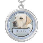 Pet Memorial Charm Necklace for Dogs