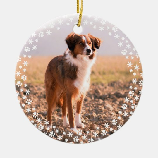 Pet Memorial Christmas Holiday Ornament