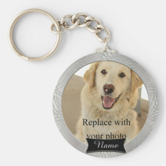 Pet Memorial Custom Photo Key Ring